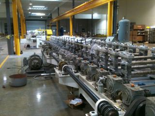 2012 - Complete Roll Forming Line